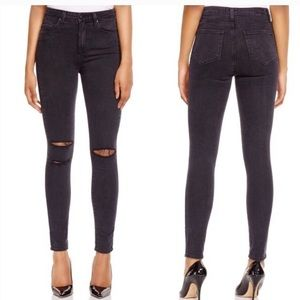 Paige Margot high rise skinny